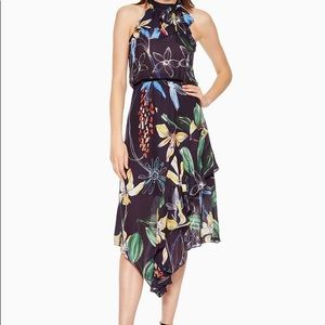 Parker Julieta Navy Floral Dress - New With Tags